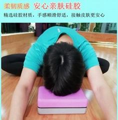 抗壓防滑瑜伽磚 環保舒適硅膠瑜伽磚定製