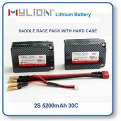 RC Lithium Polymer Battery 5200mAh 7.4V