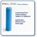 Rechargeable Lithium Battery For