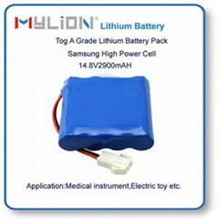 Lithium battery for smart vacuum cleaner