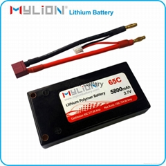 RC LiPo Battery 5800mah 3.7V 55C for RC Car