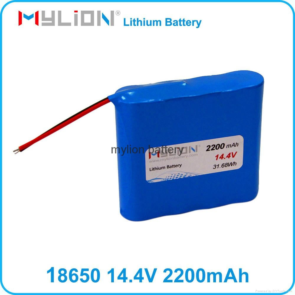 Rechargeable Lithium Battery For Smart Vacuum Cleaner