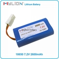 Rechargeable Lithium Battery For LED