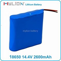 li-ion battery pack 14.4V 2600mah for 18650 Lithium battery sprayer