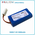 Mylion Rechargeable 18650 lithium