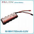 Mylion 2/3A 1700mah 6V stick shape rc