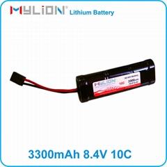 Mylion TRX Plug 3300mah 8.4v nimh Battery pack