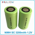 high quality rechargeable 1.2v SC