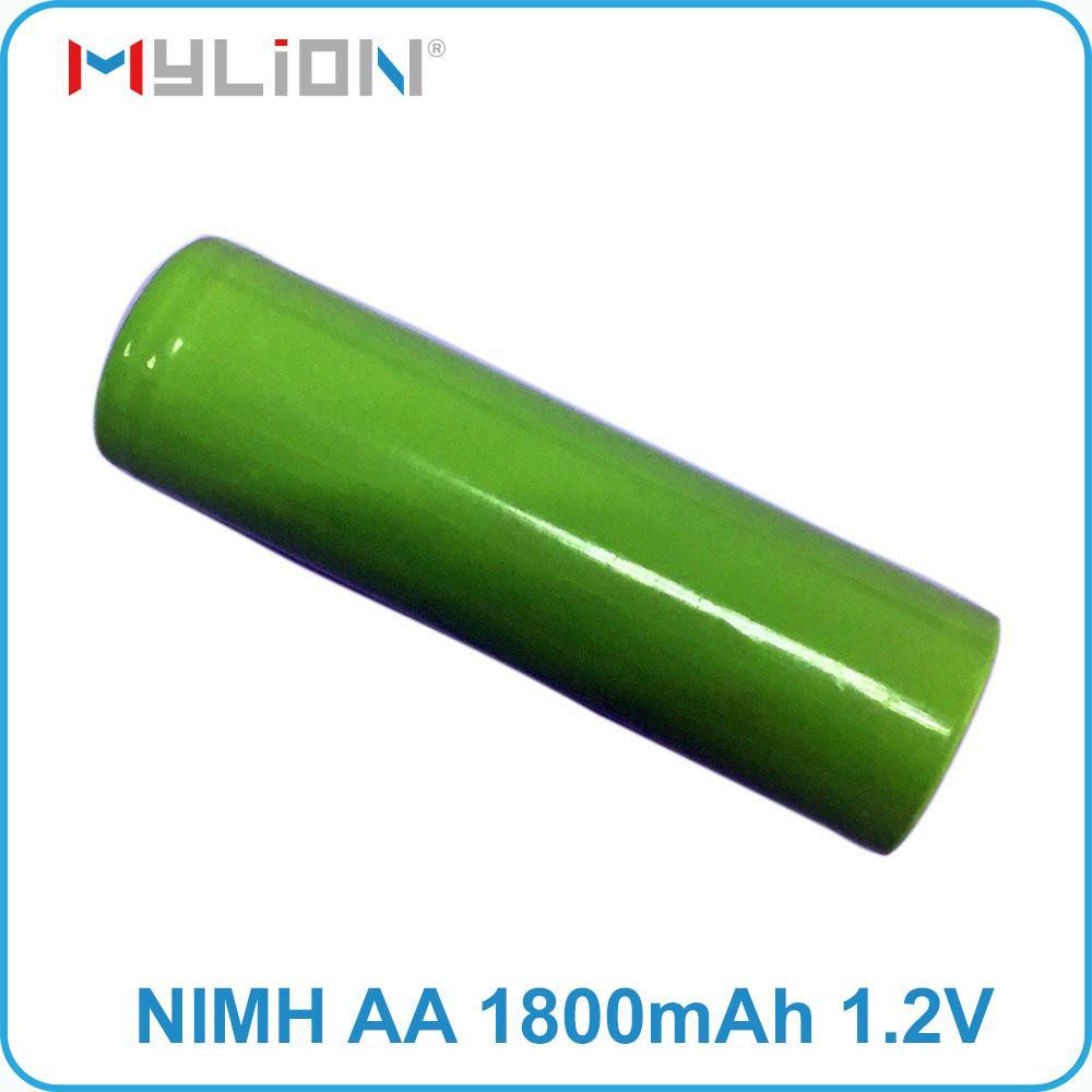 rechargeable nimh 1.2v 1800mah aa battery 1