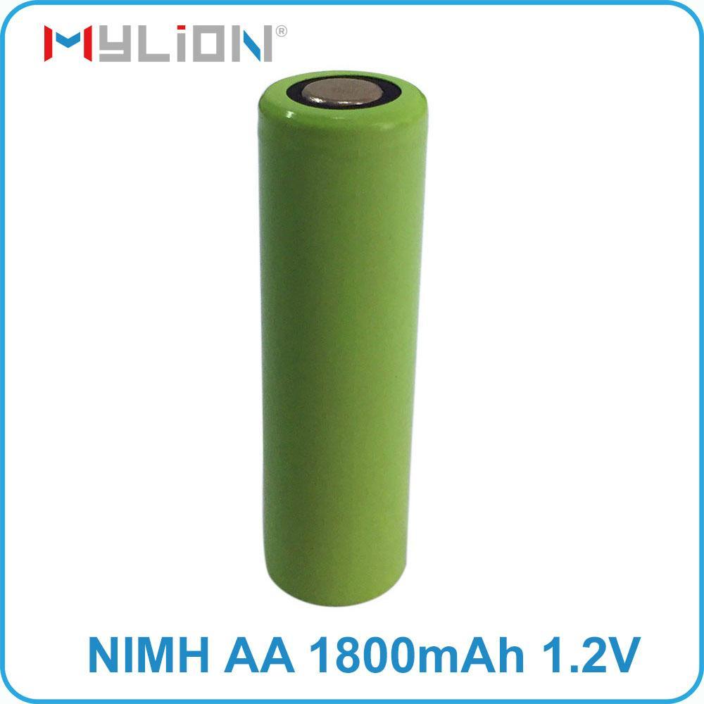 rechargeable nimh 1.2v 1800mah aa battery 2