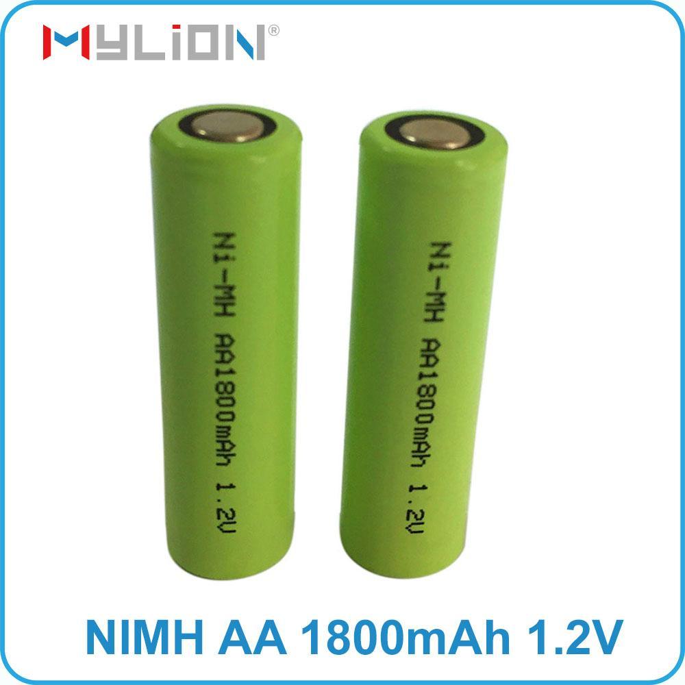 rechargeable nimh 1.2v 1800mah aa battery 4