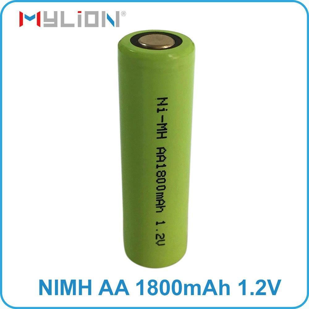 rechargeable nimh 1.2v 1800mah aa battery 5