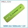 rechargeable nimh 1.2v 1800mah aa battery 6