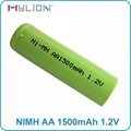 rechargeable nimh 1.2v 1500mah aa Battery 2
