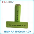 rechargeable nimh 1.2v 1500mah aa Battery 5