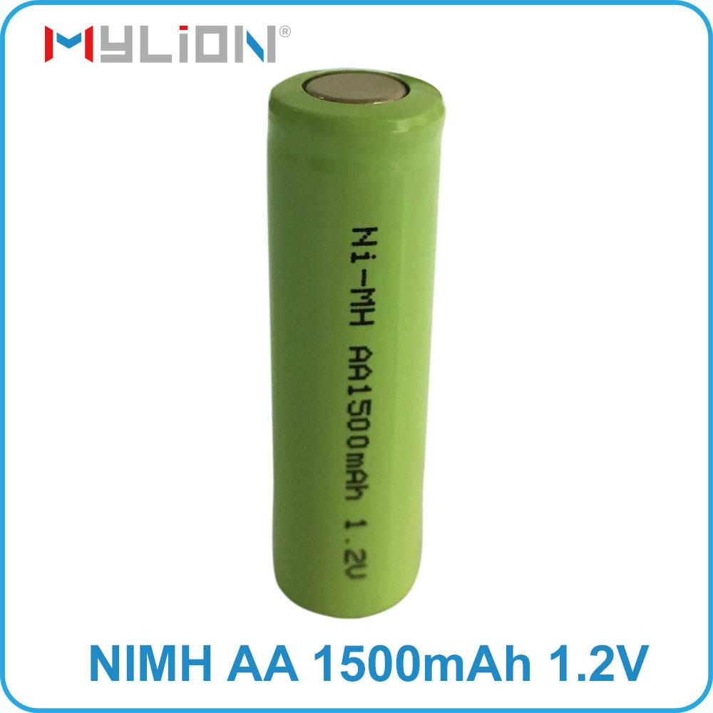 rechargeable nimh 1.2v 1500mah aa Battery 4