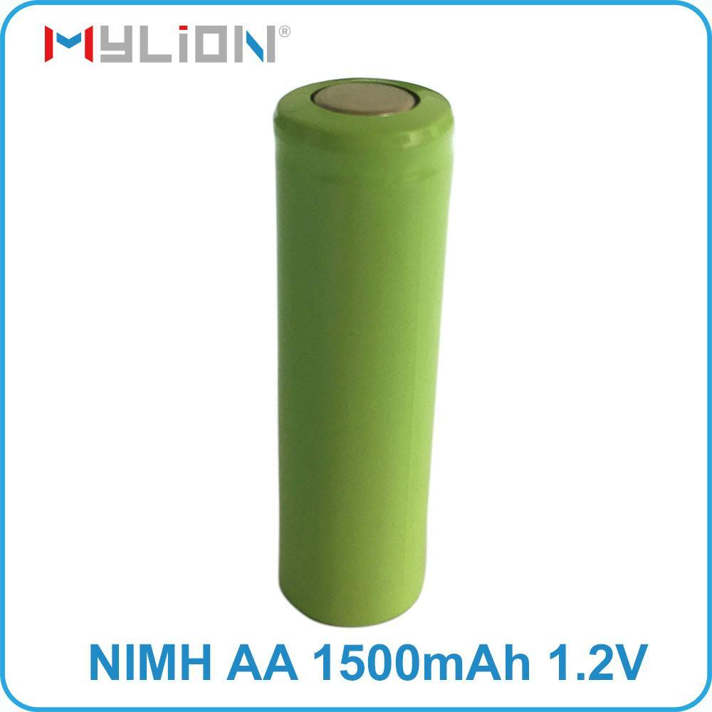 rechargeable nimh 1.2v 1500mah aa Battery 6