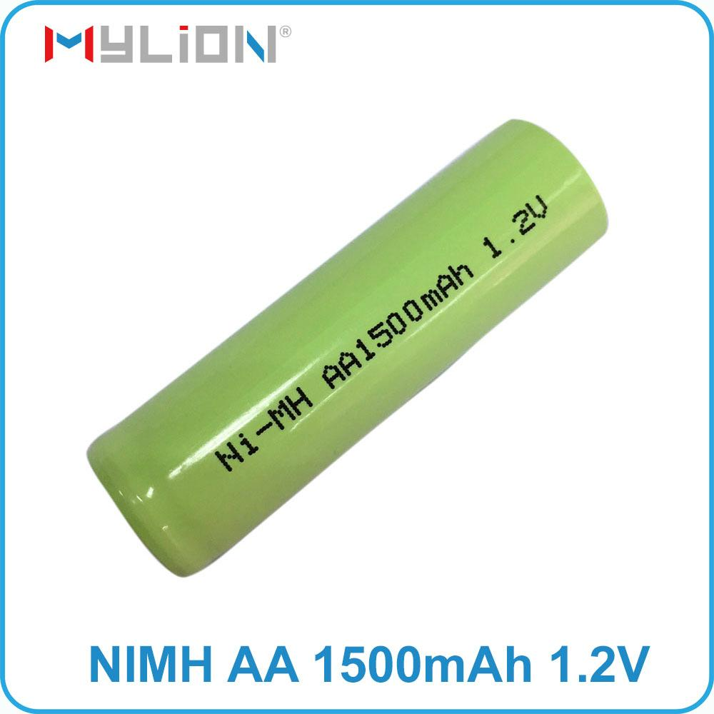 rechargeable nimh 1.2v 1500mah aa Battery 7