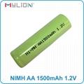 rechargeable nimh 1.2v 1500mah aa Battery 7
