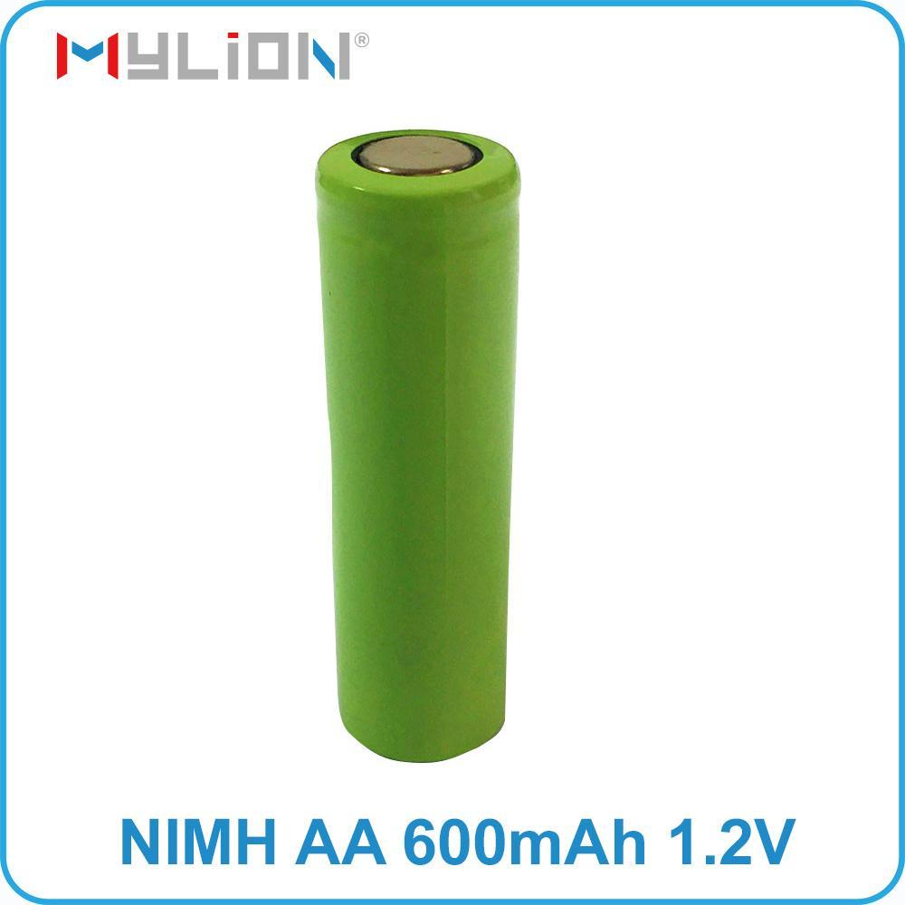 rechargeable nimh 1.2v 650mah aa Battery 3