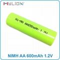 rechargeable nimh 1.2v 650mah aa Battery 4