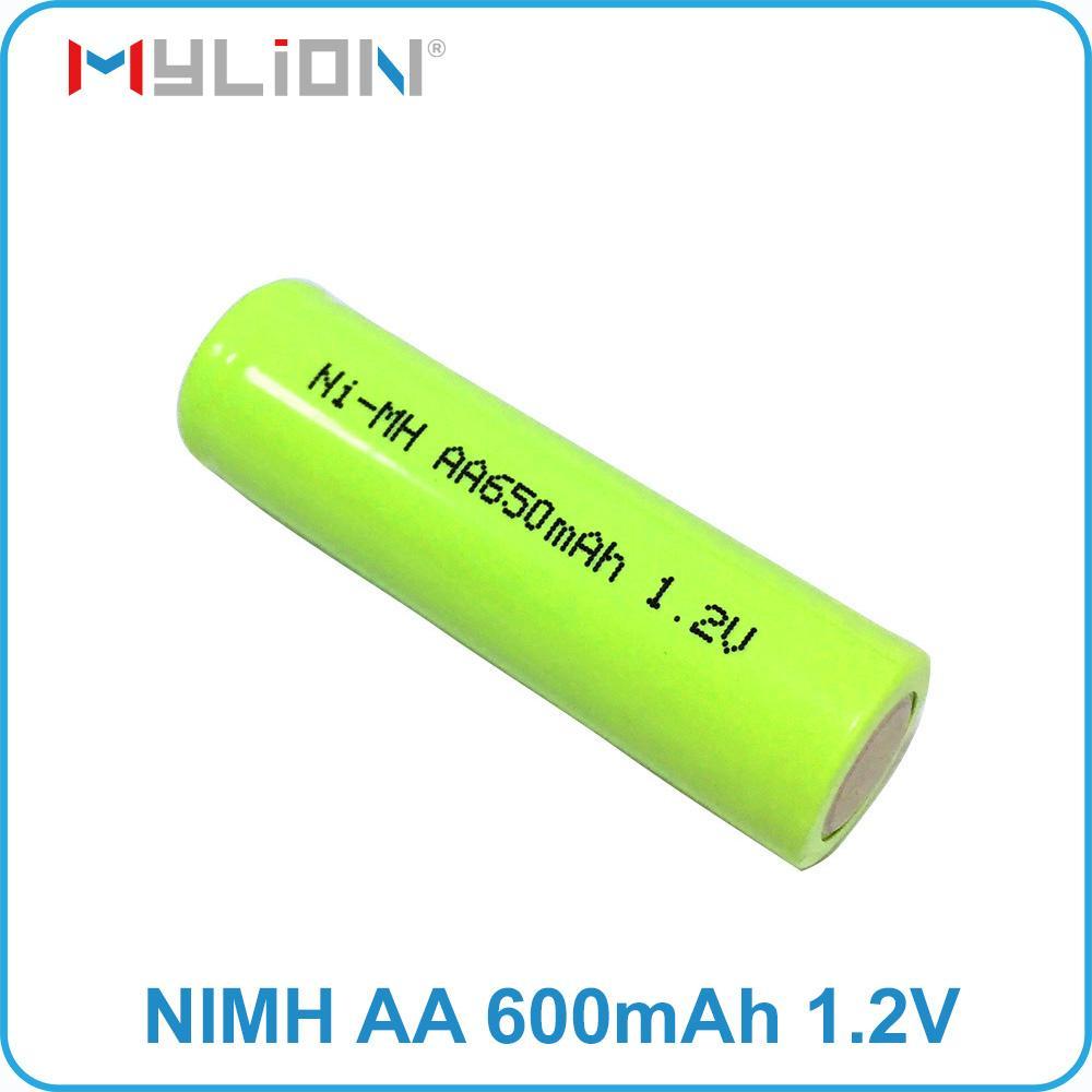 rechargeable nimh 1.2v 650mah aa Battery 6
