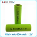rechargeable nimh 1.2v 650mah aa Battery 7