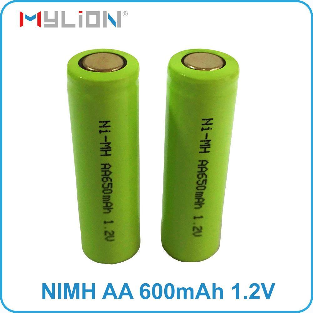 rechargeable nimh 1.2v 650mah aa Battery 1