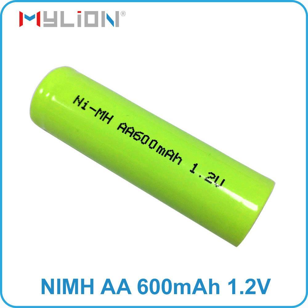rechargeable nimh 1.2v 600mah AA Battery 1
