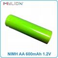 rechargeable nimh 1.2v 600mah AA Battery 4