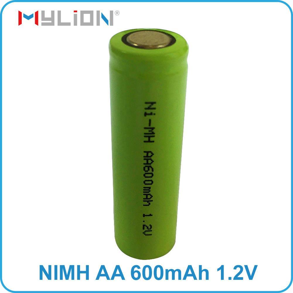 rechargeable nimh 1.2v 600mah AA Battery 3