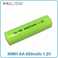 rechargeable nimh 1.2v 600mah AA Battery 5