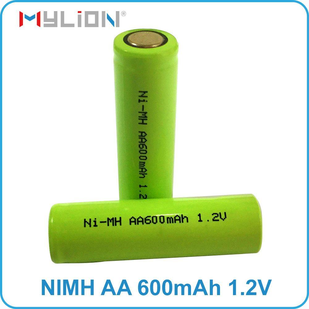 rechargeable nimh 1.2v 600mah AA Battery 6