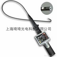 PSE 3.5寸屏Φ6mm高清雙鏡頭前視側視鏡頭可控兩方向轉
