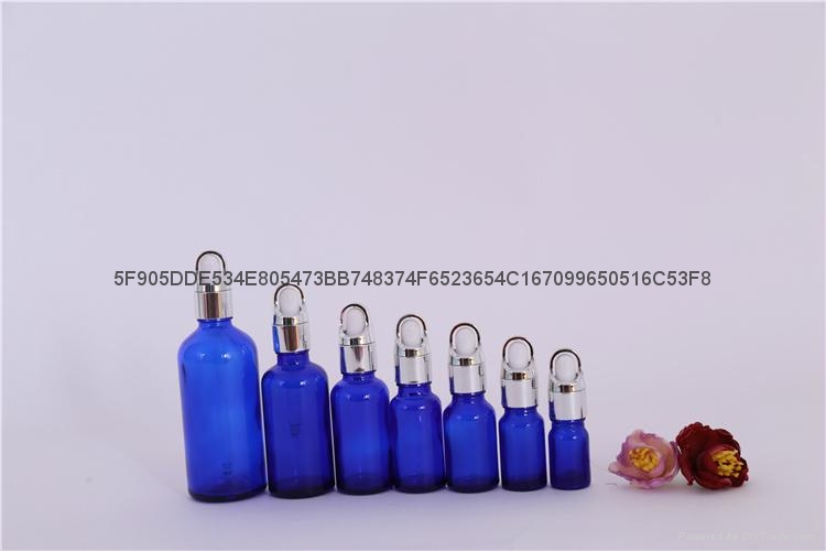 精油瓶棕色蓝色绿色精油分装瓶 2