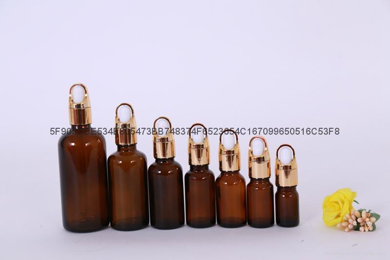 精油瓶棕色蓝色绿色精油分装瓶 1