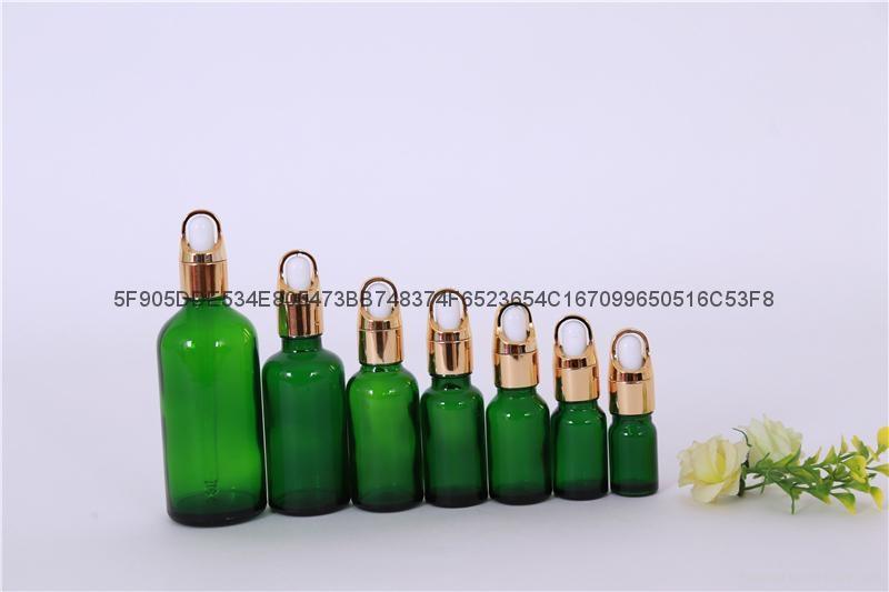 精油瓶棕色蓝色绿色精油分装瓶 4