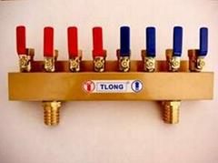 四進四出簡易型分流器/注塑機通水專用