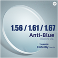 1.56 HMC EMI UV400 Blue (BIO Sky) Lens