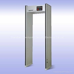 AccuCheck i Walk Thru Metal Detector CS-DAi (6zones LED display)