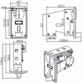 TR188 - Intelligent Single Coin Acceptor
