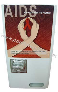 Single Selection Mechanical Condom Vendor (TR611 & TR611B) 1