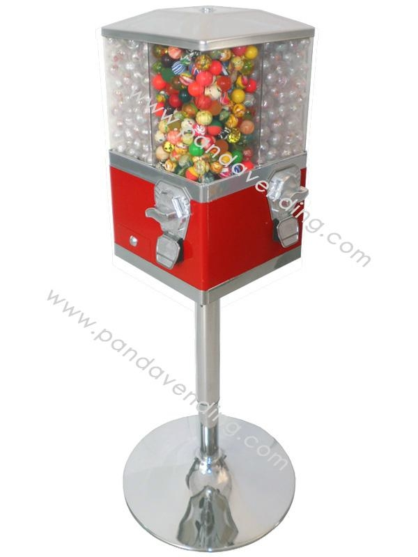 """TR420 - """"4-In-1"""" Spin Candy Vending Machine  1"""