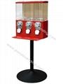 Easy Refilling Triple Vending Machine