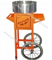 Electric Candy Floss Machine with Cart