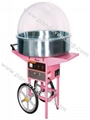 Electric Candy Floss Machine with Cart &