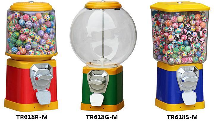 TR618-M Series- Pro Plastic Gumball Machines  1
