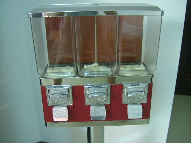TR103C - Easy Refill Triple Vendor with Chrome Stand 2