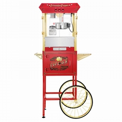 8 Ounce Popcorn Machines With Cart (6030)