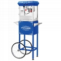 8 Ounce Popcorn Machines With Cart